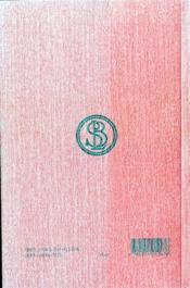 Poemes t.1 - 4ème de couverture - Format classique