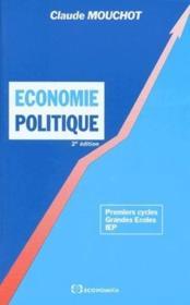 Economie Politique, 2e Ed. - Couverture - Format classique