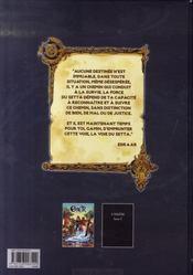 Ether t.1 ; la voie du Setta (1ère partie) - 4ème de couverture - Format classique