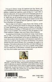 La boussole - 4ème de couverture - Format classique