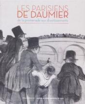 Les parisiens de Daumier - Couverture - Format classique