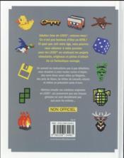 Just brick it ; petit livre pratique à l'usage des adultes fans de Lego - 4ème de couverture - Format classique