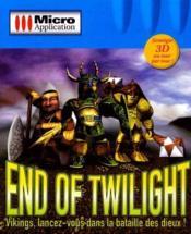 End Of Twilight - Couverture - Format classique