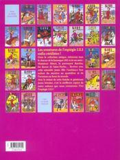 Lili t.24 ; Lili et le captain Cramm - 4ème de couverture - Format classique