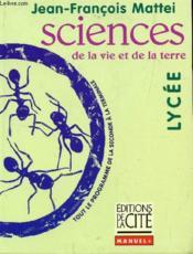 Sciences Lycee - Couverture - Format classique