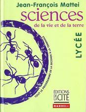 Sciences Lycee - Intérieur - Format classique