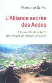 Alliance Sacree Des Andes (L') - Intérieur - Format classique
