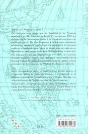 Bordeaux et la marine de guerre xviie-xxe siecles - 4ème de couverture - Format classique
