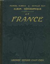 Album Geographique, La France - Couverture - Format classique