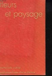 Fleurs Et Paysages + 24 Diapositives. - Couverture - Format classique