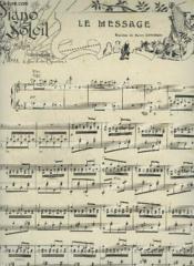 Piano Soleil - N°4 Du 28 Juillet 1901 : Le Message + Roxane. - Couverture - Format classique