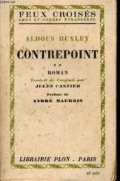 Contrepoint, Tome 2 - Couverture - Format classique