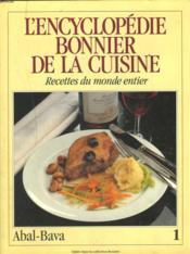L'encyclopédie Bonnier de la cuisine Tome 1 - Couverture - Format classique