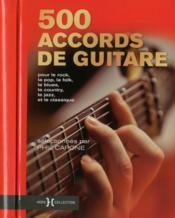 500 accords de guitare - Couverture - Format classique