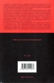 L'argent dans la culture moderne et autres essais sur l'économie de la vie - 4ème de couverture - Format classique