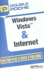 Vista et internet double poche - Intérieur - Format classique