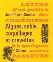 Lettre d'un poète à des comédiens et à quelques autres passeurs (2e édition) - Intérieur - Format classique