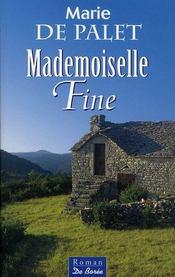 Mademoiselle fine - Intérieur - Format classique
