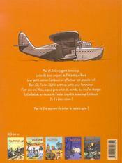 Max et Zoé t.5 ; le plus gros avion du monde - 4ème de couverture - Format classique