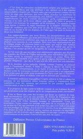 Histoire critique de jesus-christ - 4ème de couverture - Format classique