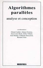 Algorithmes paralleles : analyse et conception - Couverture - Format classique