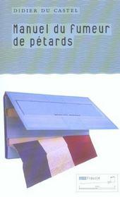 Manuel du fumeur de pétards - Intérieur - Format classique