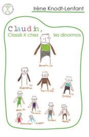 Claudin, classé X chez les dinormos - Couverture - Format classique