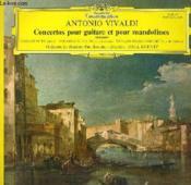 Disque Vinyle 33t Concertos Pour Guitare Et Pour Mandolines. - Couverture - Format classique