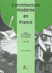 L'architecture moderne en france t.3 de la croissa - Intérieur - Format classique