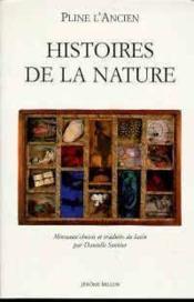 Histoires de la nature - Couverture - Format classique
