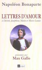 Lettres d'amour a desiree, josephine, marie et marie-louise - Intérieur - Format classique