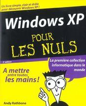 Windows Xp - Intérieur - Format classique