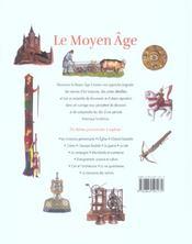 Le Moyen Age - 4ème de couverture - Format classique