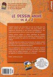 Le dessin animé de a à z - 4ème de couverture - Format classique