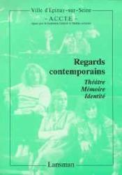 Theatre memoire identite - Couverture - Format classique