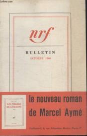 Bulletin Octobre 1960 N°153. - Couverture - Format classique