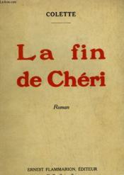 La Fin De Cheri. - Couverture - Format classique