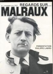 Regards Sur ... Malraux N°1 - Couverture - Format classique