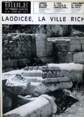 Bible Et Terre Sainte N°81 : Laodicee Du Lykos Resurgit - A L'Angle De L'Eglise De Laodicee Ecris... - L'Aveuglement De Laodicee Ses Fruits - Couverture - Format classique