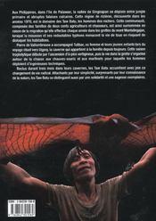 Les hommes des rochers - 4ème de couverture - Format classique