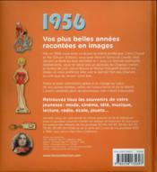 1956 ; le livre de ma jeunesse - 4ème de couverture - Format classique
