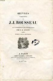 Oeuvres Completes De J. J. Rousseau, Tome Xv, Ecrits Sur La Musique - Couverture - Format classique