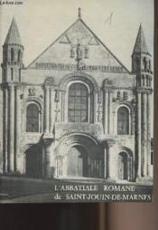 L'Abbatiale romane de Saint-Jouin-de-marnes - Couverture - Format classique