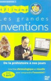 Grandes Inventions (Les) - Intérieur - Format classique