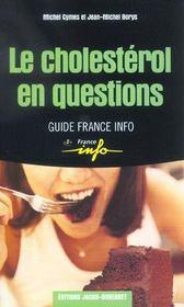 Le cholesterol - Intérieur - Format classique