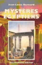 Mysteres egyptiens - Couverture - Format classique