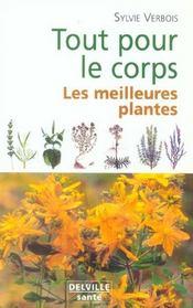 Tout pour le corps ; les meilleures plantes - Intérieur - Format classique