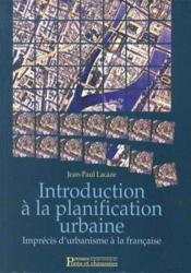 Introduction planification urbaine - Couverture - Format classique