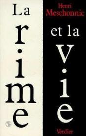 La rime et la vie - Couverture - Format classique