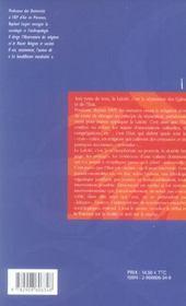 Laicite legitime la france et ses religions d'etat (une) - 4ème de couverture - Format classique